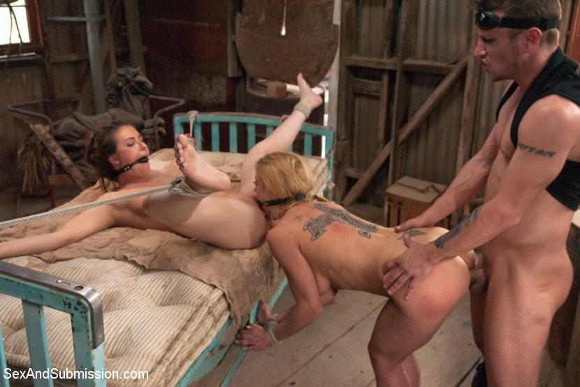 Kayden Kross Anal Threesome