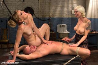 Femdom Revenge Lorelei Lee and Mona Wales Punish M
