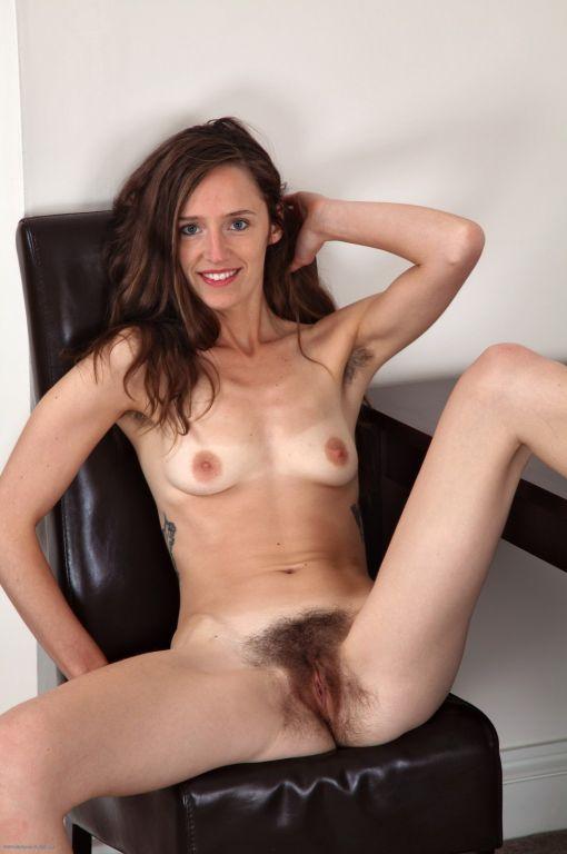 Asian Hairy Pussy Dildo