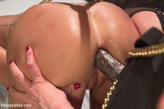 Carter Cruise in lesbian bondage scene