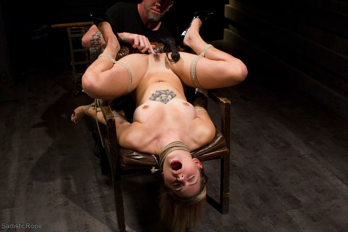 Sadistic spanking