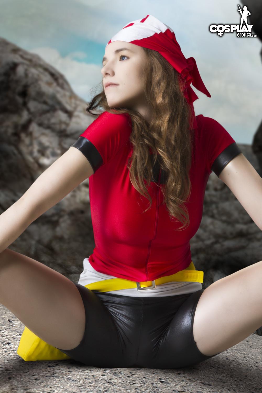 maike pokemon cosplay nackt