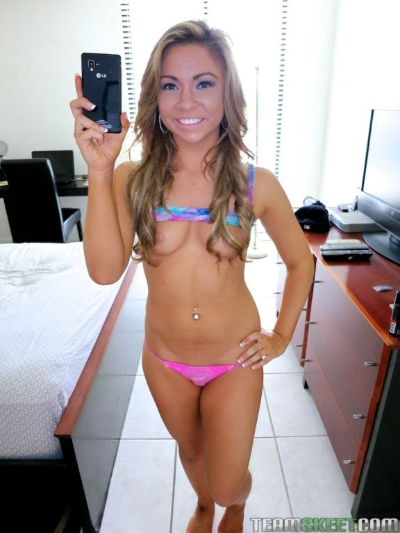 Katerina Kay makes selfies and gets drilled
