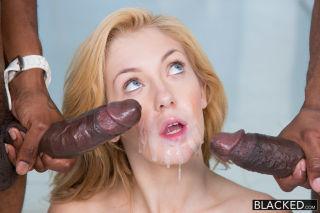 2 big black dicks for rich white girl emily kae