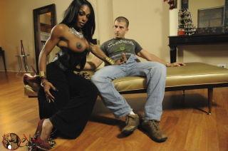 Interracial shemale sex