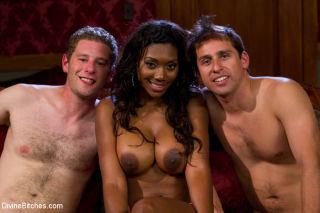 Nyomi Banxxx cuckolds her rich boyfriend with the