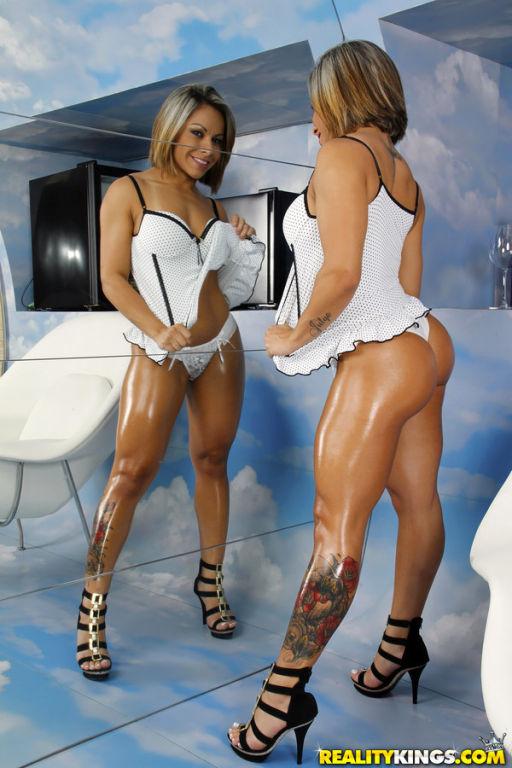Round assed brazil babe Melissa Pitanga anal fucke