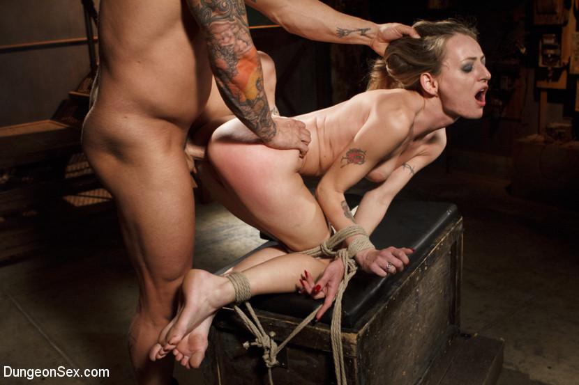 Bondage and rough sex