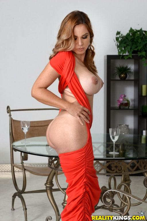 Busty MILF Gabriela Fucks A Big Dick