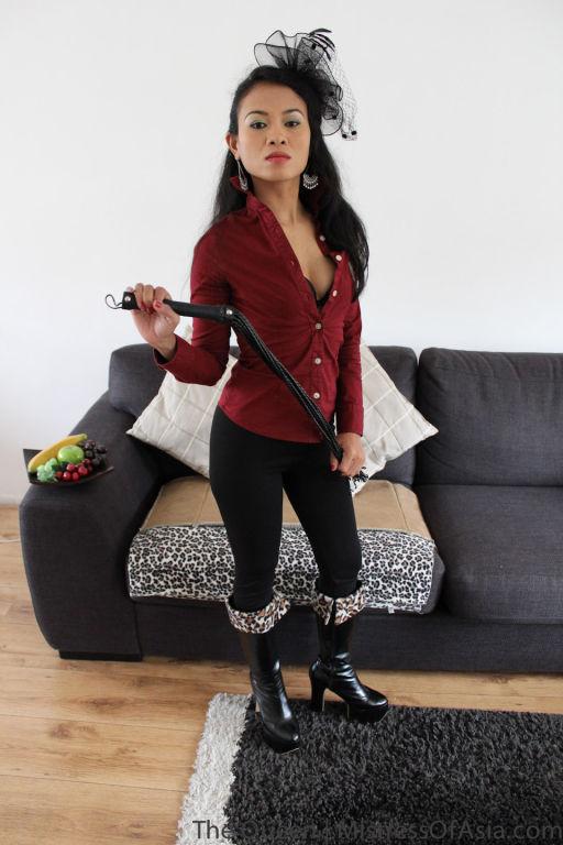 Thai mistress ready to beat you
