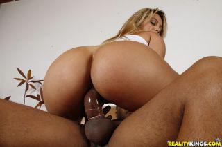 Diana rode that dick like a freak as her huge ass