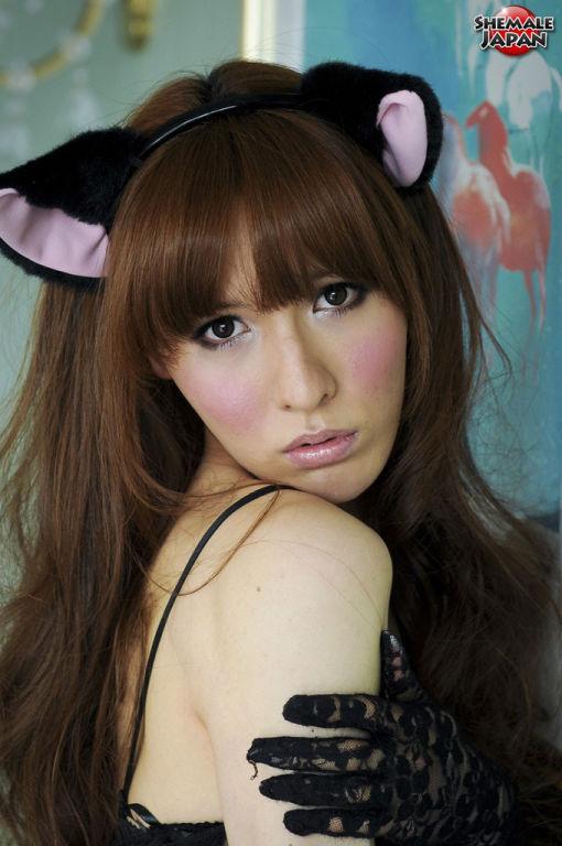 Japanese ladyboy cosplay
