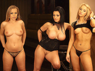 Backstage of Three divas