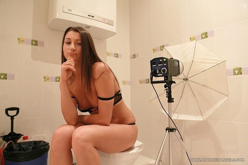 Backstage Teen porn