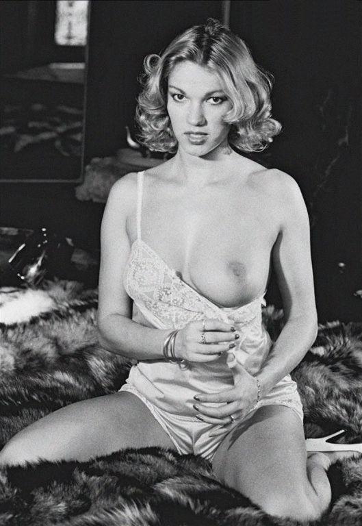 Brigitte Lahaie in vintage pics from the 1970s