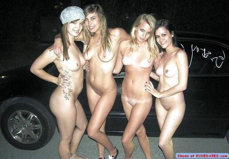 Amateur Lesbians Caught Public