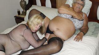 Grandma Libby and Auntie Trisha