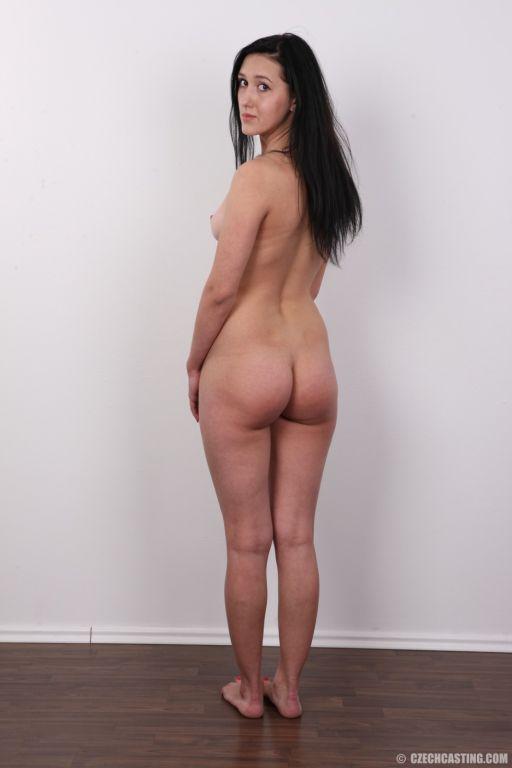Gorgeous model posing naked