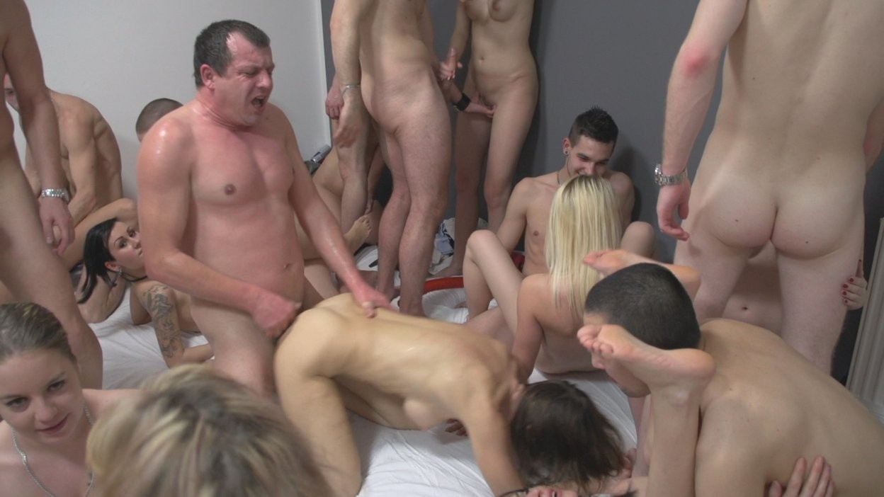 Sex naked group and