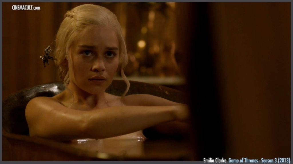 Emilia Clarke nude from Game of Thrones