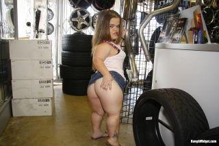 Dirty Horny Midget Slut Mini Mya Having A Huge Bla
