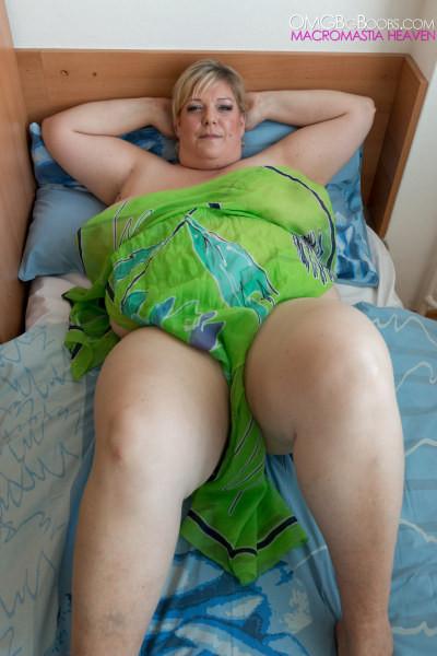 Gigantic mature breasts