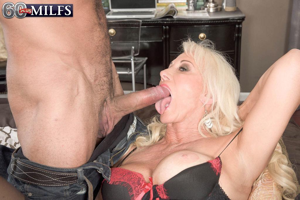 Dirty Hot Grandma Madison Milstar Sucking Huge Dic