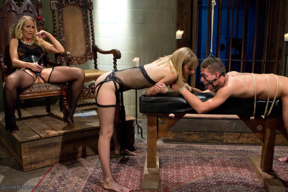 Секс видео раб и хозяйка