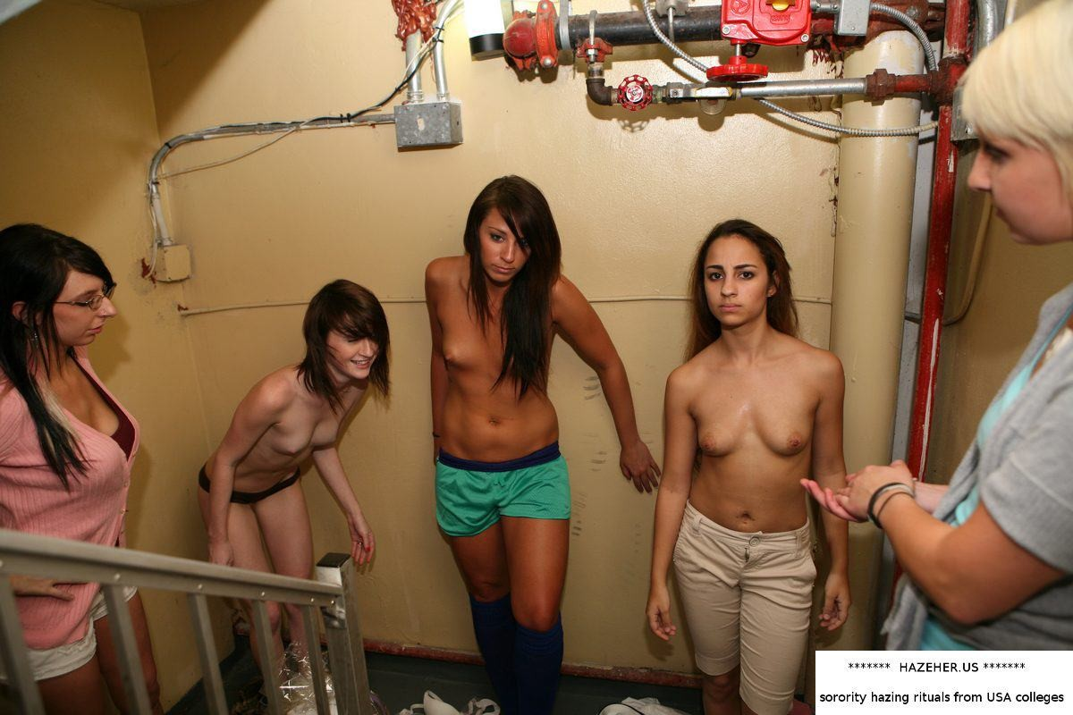 Women behaving badly naked
