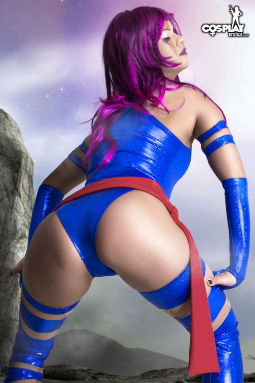 CosplayErotica  Psylocke XMen 3 The Last Stand nud