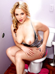 Curvy Hot Blonde Sucks Fattest Cock Ever  Gloryhol