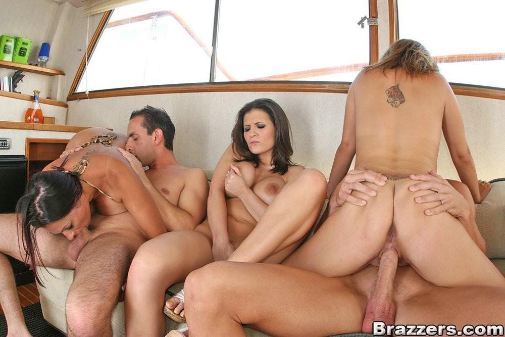 Ava austin boat orgy