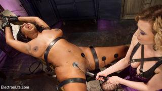 First time Electro Slut Lisa Tiffian surrenders he