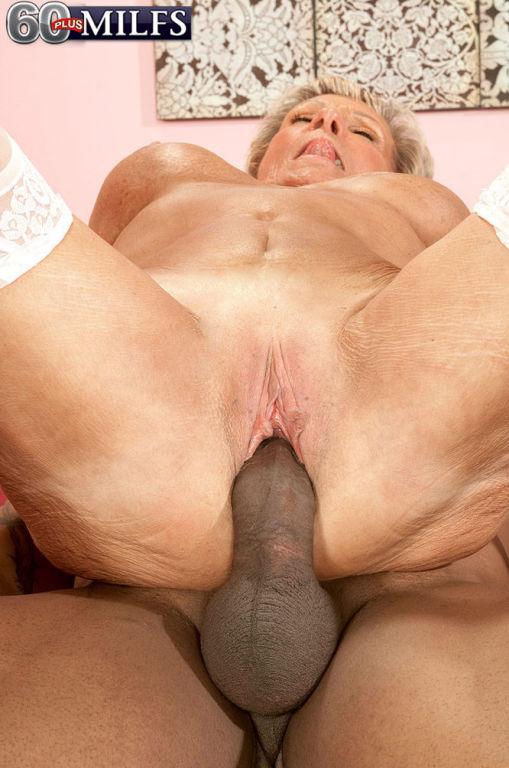 Dirty Granny Slut Sandra Ann Craving Huge Black Di