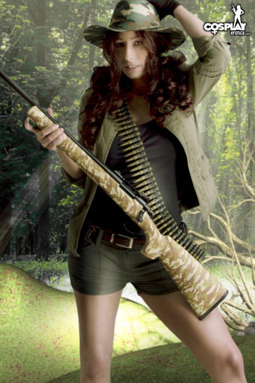 CosplayErotica  Sandy The Chameleon nude cosplay