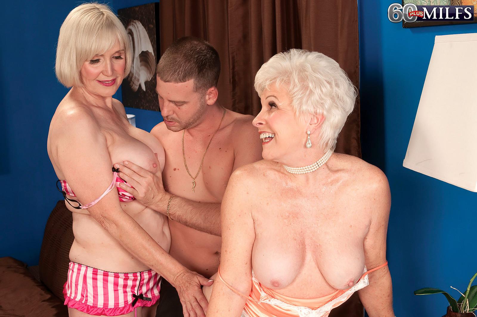 Busty Ffm Milf Threesome