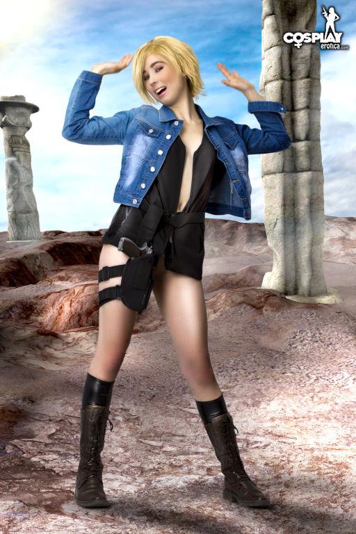 CosplayErotica  Aya Brea Parasite Eve nude cosplay