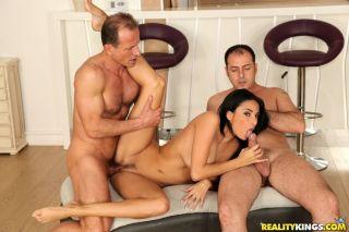 naked Alissa Kate gangbangs pornstars