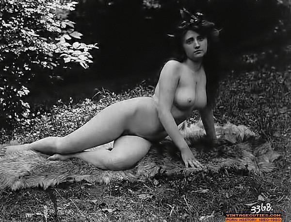 Near nude girls