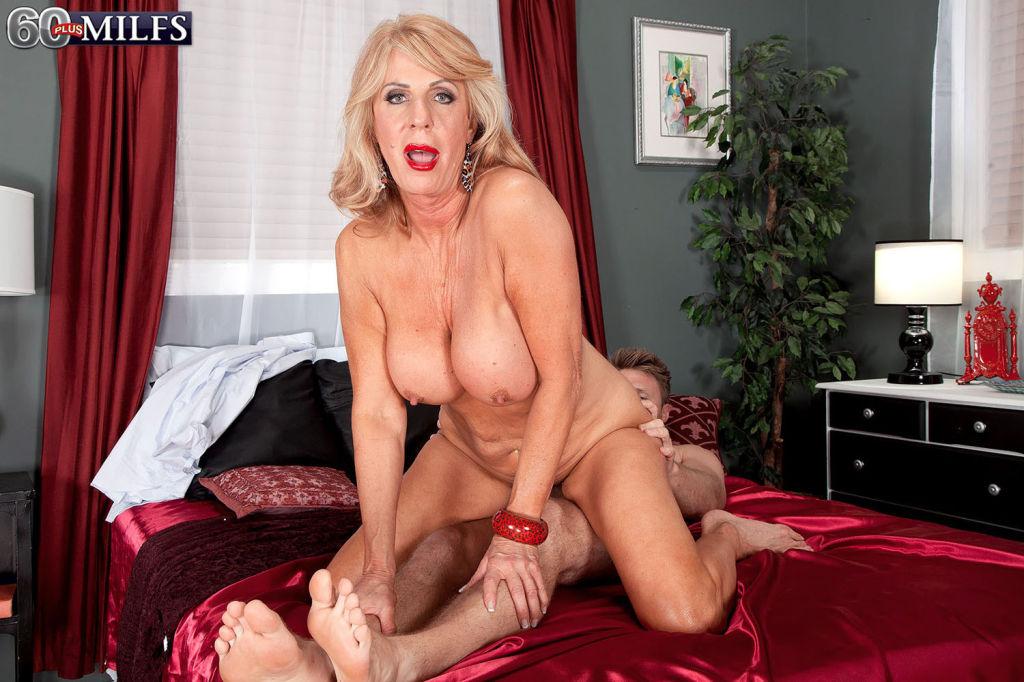 Kinky Grandma Phoenix Skye Craving A Stiff Young C