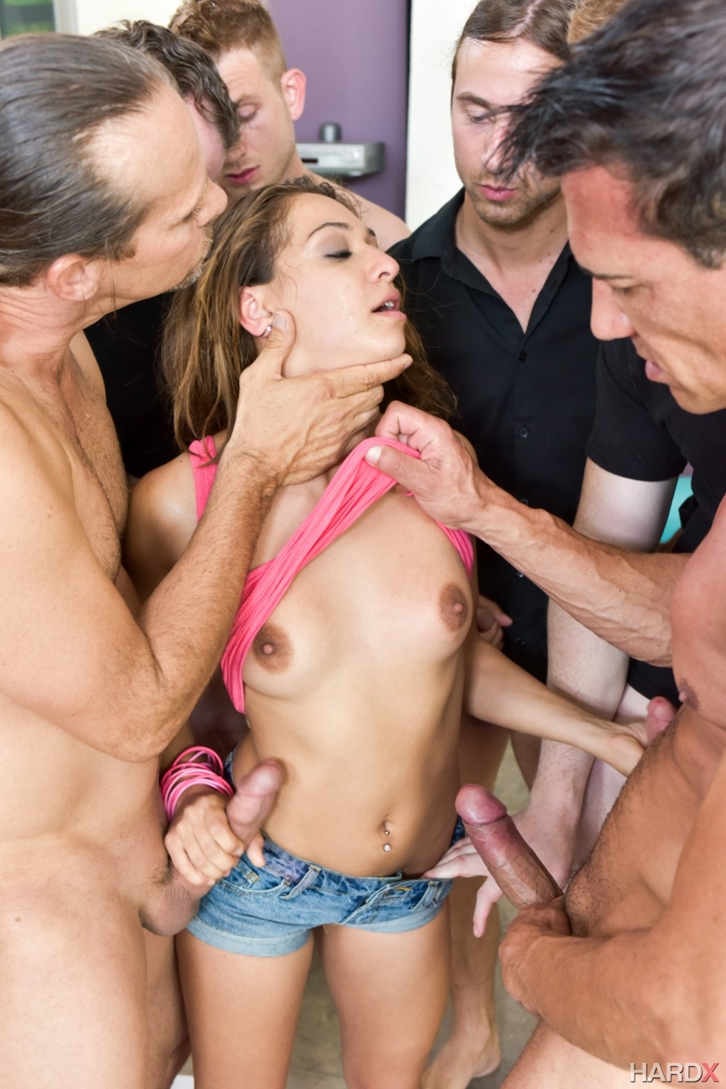 Blowjob gangbang bukkake latina accept. opinion