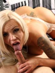 Busty Horny Cougar Babe Nina Elle Craving Huge Coc