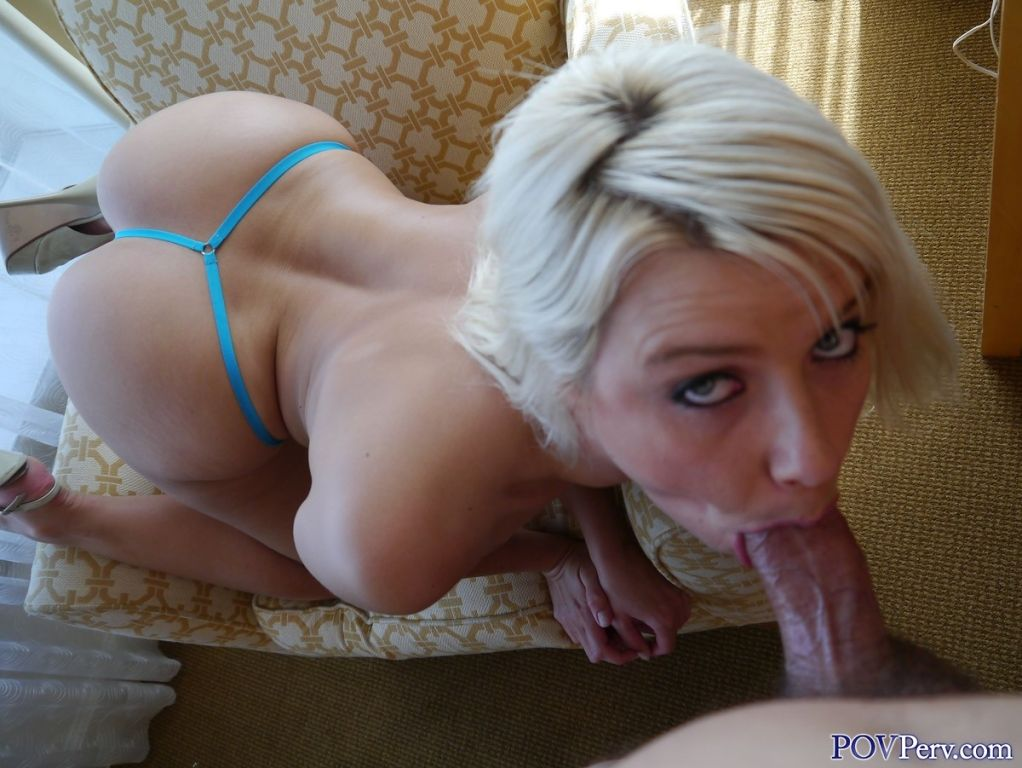 Anikka Albrite action blowjob stills