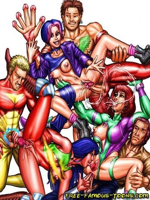 Секс Игры Супергерои