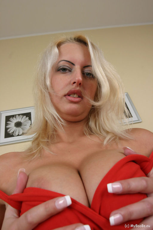 Arabella Bella in Red Dress