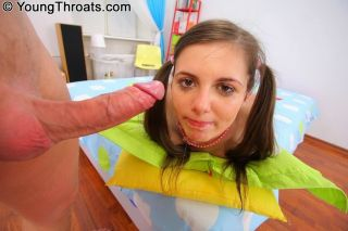 Teen Natalia Illarionova giving head and getting d