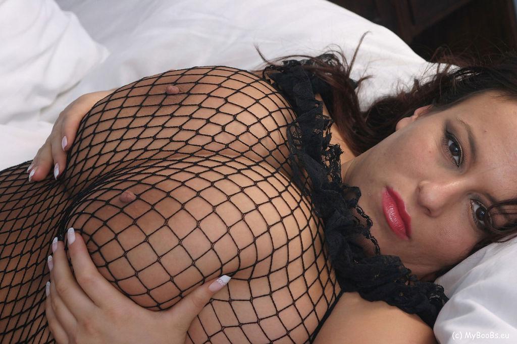Aneta Buena in BodyStockings