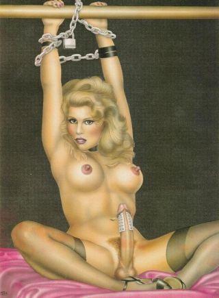 Dickgirls bondage porn