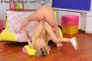 Nice teen cock sucker Taya Fedora getting her ass