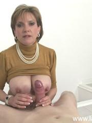 Amazing tit fucking british milf Lady Sonia